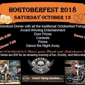 Hogtoberfest 2018 poster